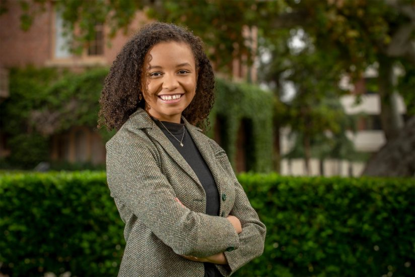 USC 2021 valedictorian Tianna Shaw-Wakeman