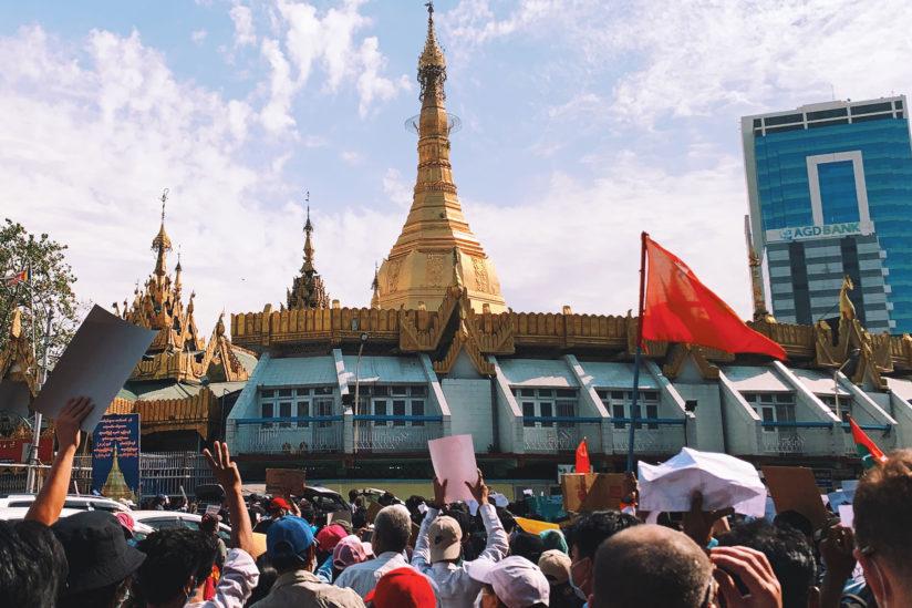 USC Burmese students