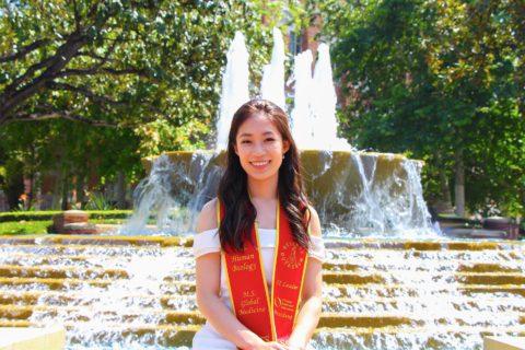 Elaine Huang USC student symphony orchestra