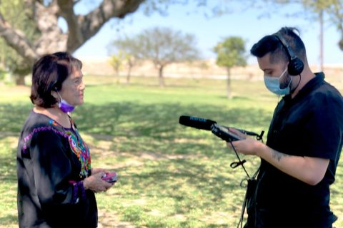 Frank Rojas interviews Dolores Huerta