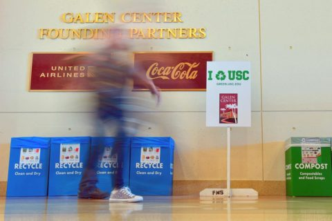 USC Athletics U.N. Sports for Climate Action