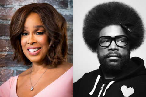 Gayle King and Questlove