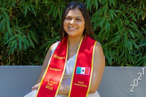 Kimberly Melgoza USC first-gen student