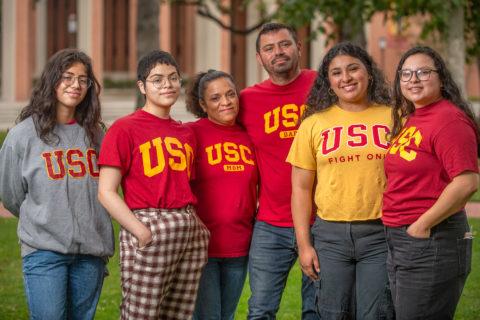 Cáceres family USC NAI scholars