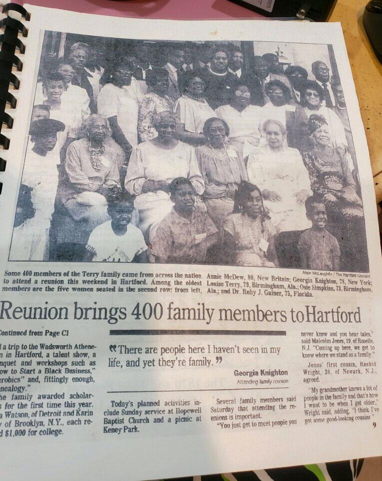 Joyce Richey family