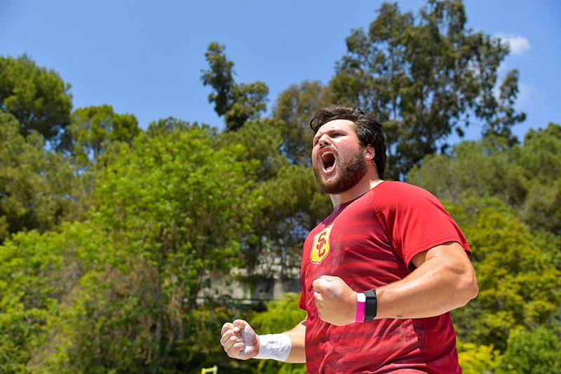 USC student-athlete Matthew Katnik