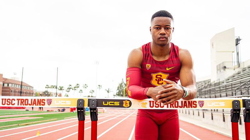 USC student-athlete Tade Ojora