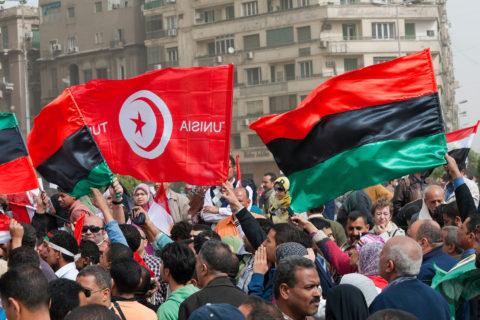 Arab Spring protests