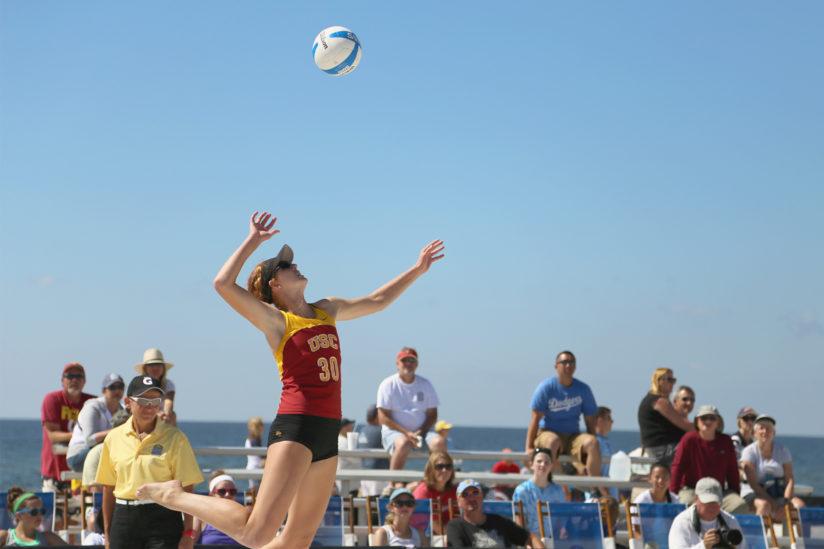 Kelly Claes USC beach volleyball Olympics