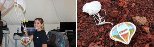 Mars art living light Richelle Gribble