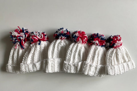 Madhatter Knits knitting nonprofit premature babies