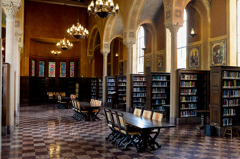 USC Hoose Library study area
