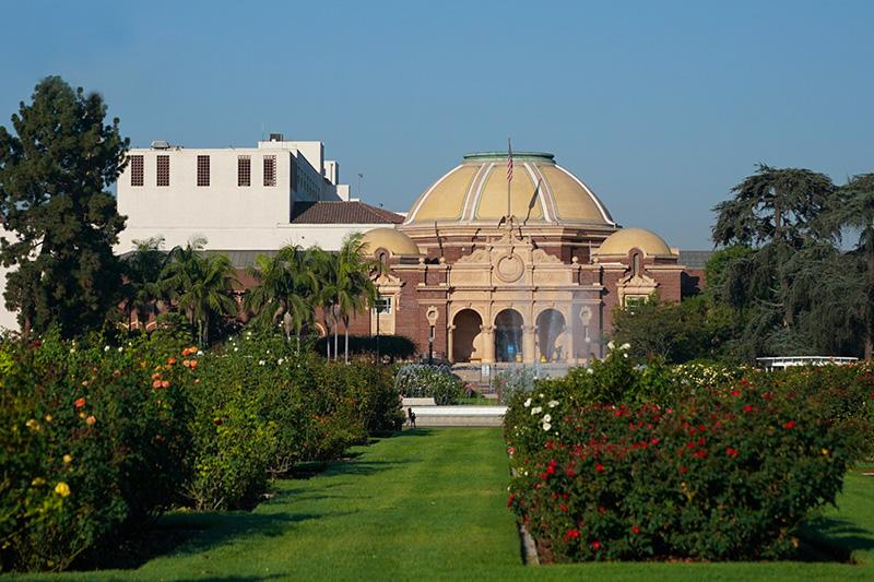 Exposition Park rose gardens