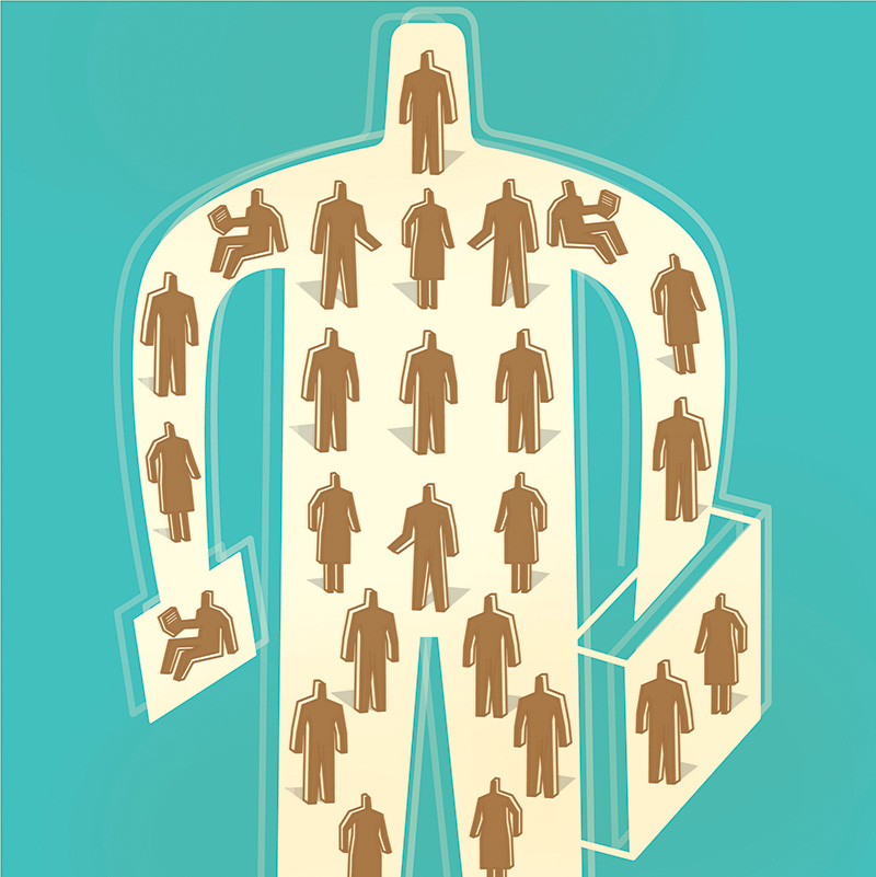 employees in internal talent marketplaces