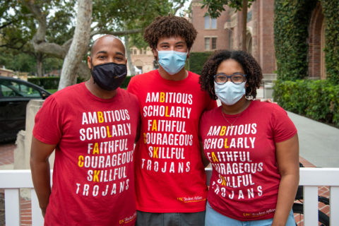 Greedley Harris III, Tyler Trouillot and Jaya Hinton: USC'sStudent Equity and Inclusion Programs