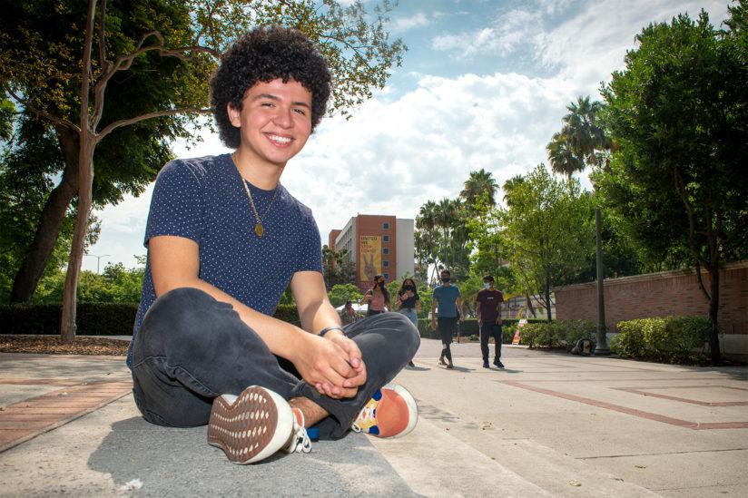 Annenberg Youth Academy alum Abraham Flores