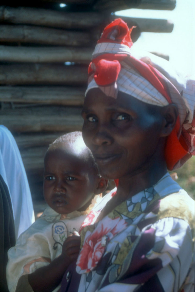 USC Africa hub: mother and child
