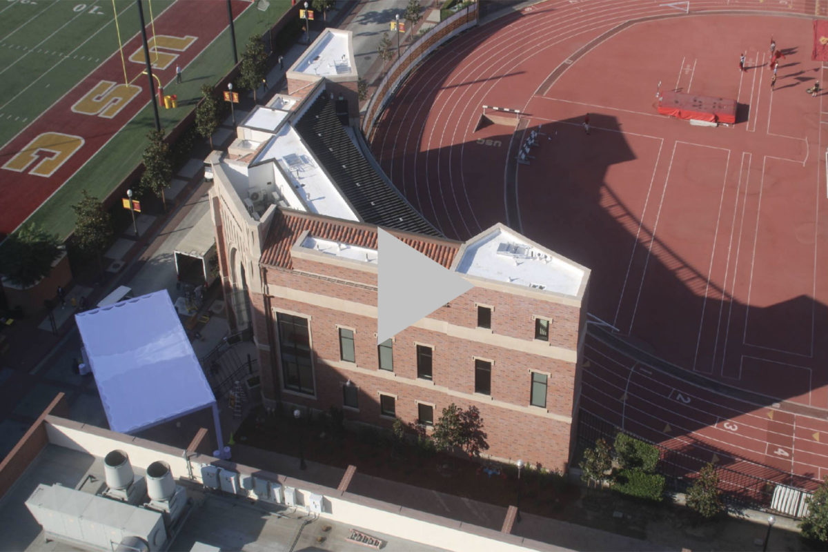 Colich Track and Field Center construction