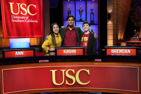 USC College Bowl 2021 team