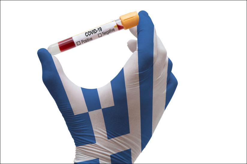 Illustration: Greece and COVID
