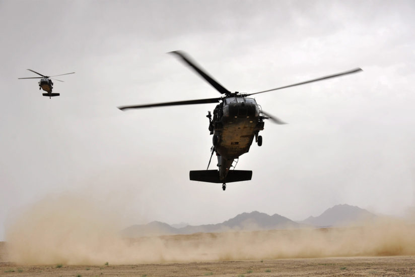Veterans mental health: helicopters
