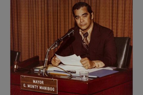 Monterey Park mayor Monty Manibog, circa 1978