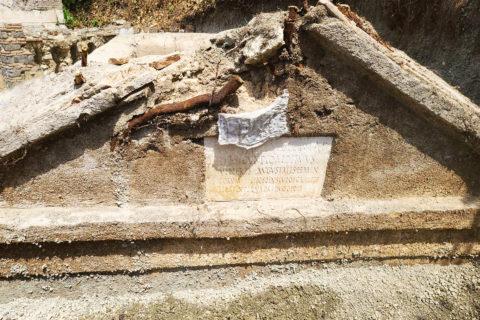 USC studeitsn Pompeii excavation