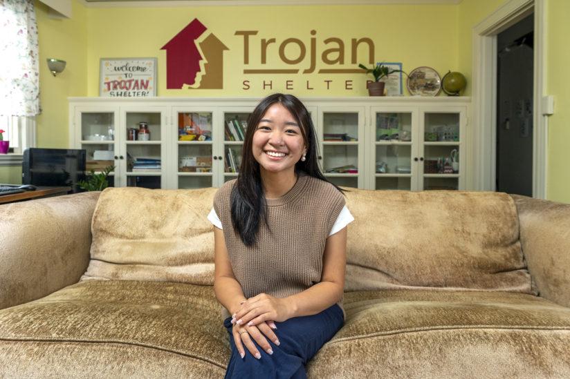 Christina Yuan Trojan Shelter USC