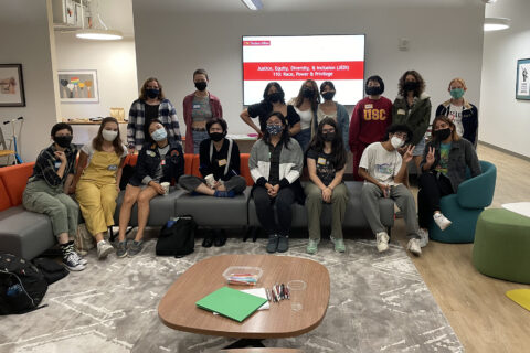 Justice equity diversity inclusion student program