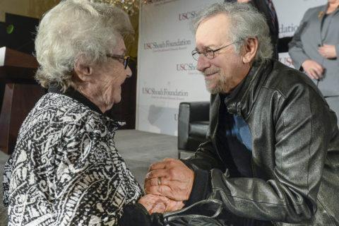 Steven Spielberg USC Shoah Foundation leadership