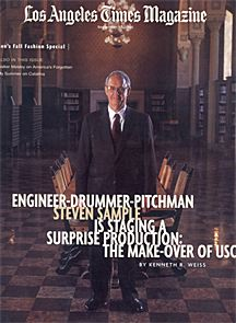 L A Times Magazine Features President Steven B Sample On