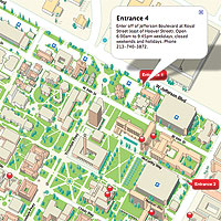 Map Of Usc Online Map Gives New Perspective on Campus   USC News