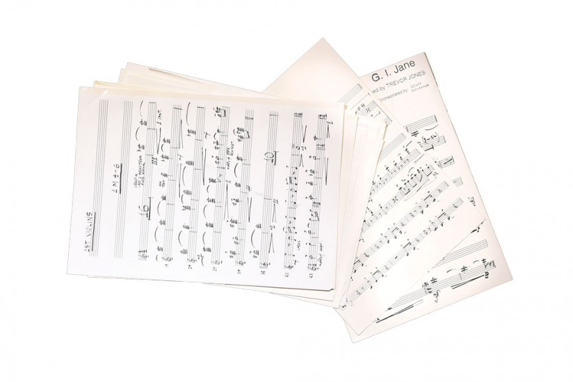 G.I. Jane: The collection includes sheet music from various films, including Trevor Jones' score for this 1997 Demi Moore vehicle.